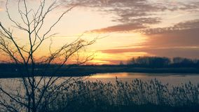 Szenischer Sonnenuntergang, Video 4K stock video footage