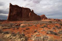 Szenischer Weg wölbt Nationalpark Vereinigte Staaten Utah wir Lizenzfreie Stockfotografie