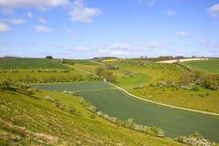 Szenisches Ackerland Stockfoto
