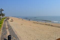 Szenisches Bild Goa-Strandes Lizenzfreie Stockfotos