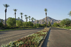 Szenisches Indian Wells Stockbilder