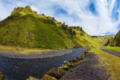 Szenisches Island Lizenzfreies Stockfoto