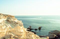 Szenisches Meer sieht Besichtigungspunkt an Stockfotos