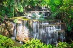 Szenisches natürliches des Bodens des Wasserfalls 4 Lizenzfreies Stockbild