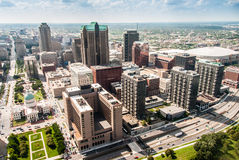 Szenisches veiw St. Louis der Stadt Lizenzfreies Stockfoto
