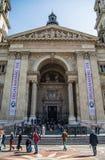 Szent Istvan basilica Royalty Free Stock Images