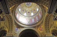 Szent Istvan Bazilika Immagine Stock Libera da Diritti