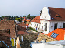 Szentendre, μικρή πόλη στην Ουγγαρία Στοκ φωτογραφία με δικαίωμα ελεύθερης χρήσης