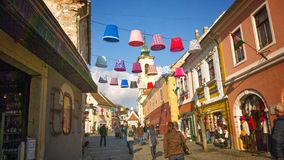 Szentendre Hungary. Beauty hungarian city Royalty Free Stock Images