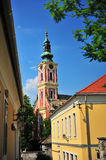 Szentendre old town sights, Hungary Royalty Free Stock Image