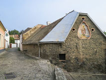 Szentendre, pequeña ciudad en la Hungría Fotografía de archivo
