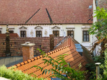 Szentendre, petite ville en Hongrie Photos stock