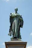 Szepessy雕象在大广场在佩奇匈牙利 免版税库存图片