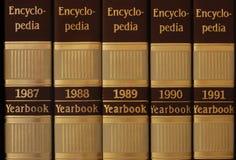 szereg encyklopedii Fotografia Royalty Free