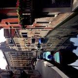 szereg kanałowe Wenecji fotografia royalty free