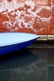 szereg kanałowe Wenecji obrazy stock