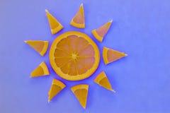 szereg owocowe Zdjęcia Stock
