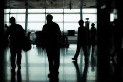szereg portów lotniczych Zdjęcia Stock