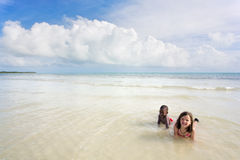 szereg różnych plażowych Fotografia Stock