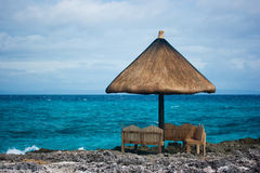 szeregowy kurort tropikalnym raju Zdjęcia Royalty Free