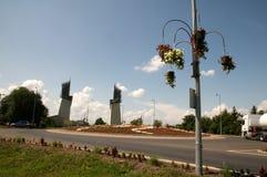 Szerencs - Gate of Tokaj Stock Image