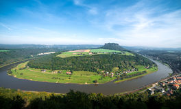 Szeroka panorama Obrazy Royalty Free