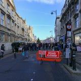 Szeroka ulica, Oxford, Zjednoczone Królestwo, Grudzień 04, 2016: Sztuki Obrazy Royalty Free
