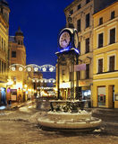 Szeroka (Wide) street in Torun.  Poland.  Stock Photos