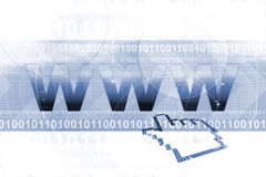 szeroki świat graficznej sieci Zdjęcie Stock