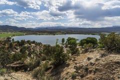Szeroki Dudniący rezerwuar Blisko Escalante Utah usa obrazy royalty free