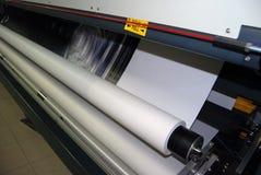 szeroki formata cyfrowy druk fotografia stock