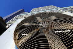 Miastowa HVAC Contidioner Lotnicza Plenerowa jednostka Manhattan Jork Zdjęcie Stock