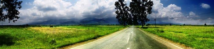 szeroki krajobrazu Zdjęcie Stock