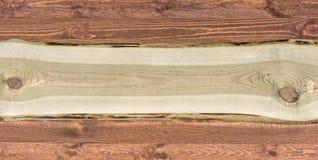 Szeroki nieociosany drewniany tło z kopii przestrzenią dla dalszy przerobu fotografia royalty free