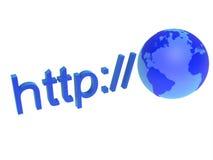 szeroki sieć świat Zdjęcie Stock