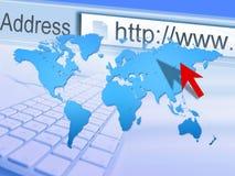 szeroki sieć świat Zdjęcia Stock