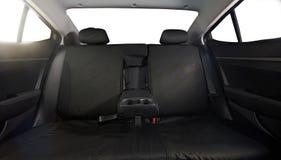 Szeroki tylny samochodowy siedzenie fotografia royalty free