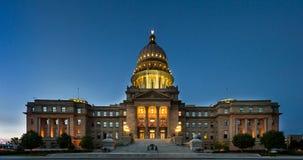Szeroki widok Boise kapitałowy budynek Zdjęcie Royalty Free