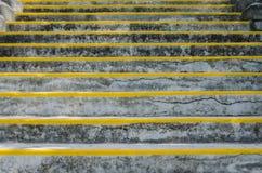 Szeroki widok schodki z podnośnikami Obraz Stock