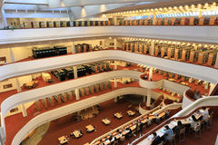 Szeroki widok Toronto odniesienie biblioteka Obraz Stock