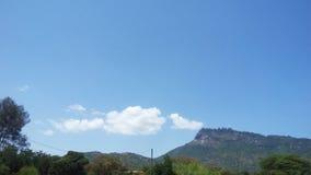 Szeroki wzgórze widok Fotografia Royalty Free
