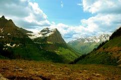 szerokie krajobrazowe góry Obraz Stock