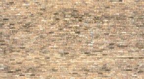 Szew mniej starej ściana z cegieł tekstury mapy Zdjęcie Royalty Free