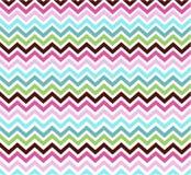 Szewronów kolorów wzoru papier Zdjęcia Stock