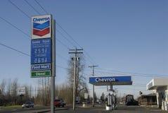 SZEWRON NASTROSZONA cena gazu NA dniu nowego roku Fotografia Stock