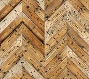 Szewron naturalna parkietowa bezszwowa podłogowa tekstura Obraz Stock