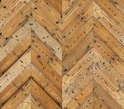 Szewron naturalna parkietowa bezszwowa podłogowa tekstura Zdjęcie Royalty Free