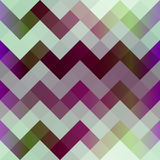Szewronu piksla wzór Obraz Stock