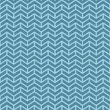 Szewronu wzór Błękitni geometryczni bezszwowi wzory dla sieć projekta royalty ilustracja