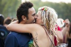 Sziget夏天音乐节布达佩斯匈牙利 免版税库存图片